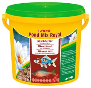 600g Sera Pond Mix Royal 3.8L BULK Staple Fish Food for Pond Goldfish Koi Fish