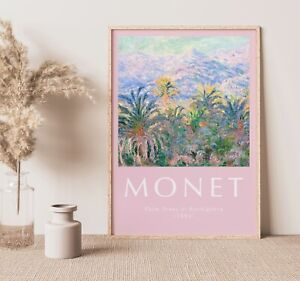 Vintage Claude Monet A3 Poster, Wall Art, Prints for Walls, Vintage Prints