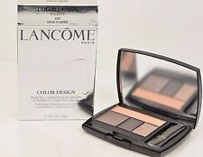 Lancome Color Design 5 EyeShadow Liner Palette Full Size ~ 602 Gris Fumee $50