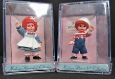 1996 Madame Alexander Merry Miniatures Mop Top Wendy/Billy Aka Raggedy Ann/Andy