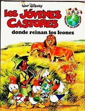 AVENTURAS de los JÓVENES CASTORES nº:  1 (de 24 de completa) Montena, 1986