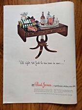 1944 Paul Jones Whiskey Ad Happy Birthday Party for Jack