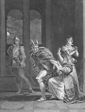 ROMANCE. How can you think of love, moment horror? c1800 old antique print