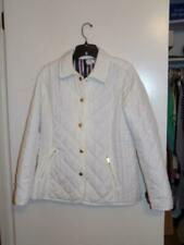 04ed4d1efb63 Crown & Ivy Womens White Quilted Lined Lightweight Jacket Coat sz Small  (NEW!)