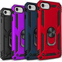 For iPod Touch 5th 6th 7th Gen Case, Kickstand Cover + Tempered Glass Protector