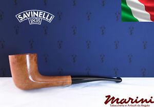 Smoking pipes pipe Savinelli 404 briar natural waxed wood made in Italy