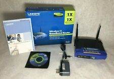 Linksys WRT54GL 54 Mbps Wireless-G WiFi Router with Box