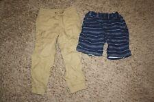 Gap Boys Kids Children Clothing Size 5 Shorts Pants Khaki Tan Plaid Navy Blue