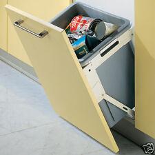 Built-in Tilting Kitchen Cabinet Unit Waste Bin - 30 Litre Capacity 10904