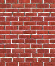 Brick Wall Plastic Background 4' X 30'