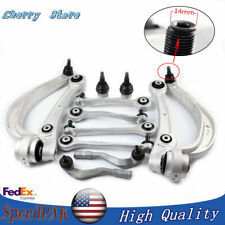 12x Suspension Control Arms Link&Ball Joint Kit 14MM Fit Audi A4 B8 A5 Rs5 Q5