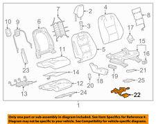 Chevrolet GM OEM 2011 Camaro Passenger Seat-Harness Right 92230421