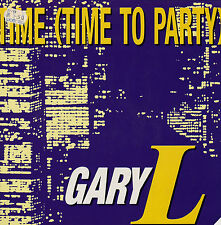 Maxi Single von Gary L - Time (Time to party)