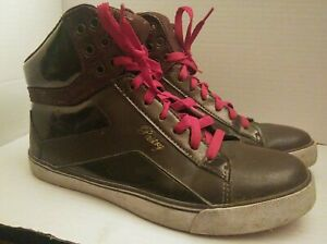 Pastry Women's Pop Tart Sweet Crime Synthetic Casual Trainers Brown Shoes Sz 8.5
