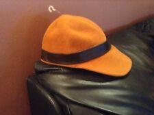 Ladies Designer orange /brown  Hat Medici Designer  retail 220.00$