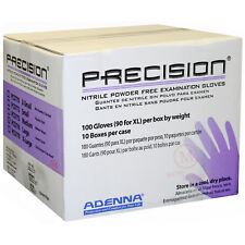 Adenna Precision Medical Grade Nitrile extra Large Tattoo Gloves 1 Case 10 boxes