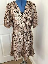 New Look Animal Print Dress - Size 18 BNWT