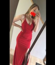 Beautiful Red Prom Dress. UK size 8/10. Previously brought from Sonique for £200
