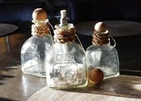 Tiki Torch, Patio, Citronella Torch, Oil Light, Patron bottle & personalized