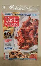 Taste of Home Summer 2017 Cooking Magazine America's Summer Potluck Issue NIP