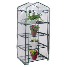 4 Shelves Green house Portable Mini Outdoor Green House Brand New Garden
