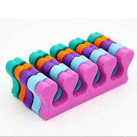 10x Sponge Foam Finger Toe Separator Nail Art Salon Pedicure Manicure Tool XR