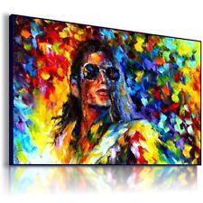 PAINTING MICHAEL JACKSON SINGER PRINT Canvas Wall Art Picture Large EP3  MATAGA