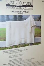 Prairie Blanket Baby Knitting Pattern from Oat Couture