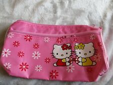 Hello Kitty Light Pink Pencil Case- NWOT