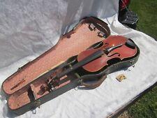 Vintage Antonius Stradivarius Violin Made in Czechoslovakia