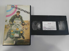 QUADROPHENIA A WAY OF LIFE VHS TAPE TAPE COLLECTOR SPANISH PAL
