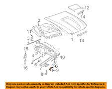 FORD OEM 99-04 Mustang Hood-Lock Latch 3R3Z16700AA