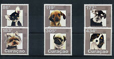 Curacao 2015 MNH Dogs 6v Set Pets Domestic Animals