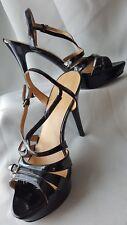 Nine West Women's Size 8 Heels Black Strappy Stiletto Z1