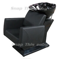 Salon Shampoo Hairdressing Sink Barbers Back Wash Basin Chair Barber Hairdresser