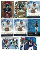 Brian Urlacher 2000 FLEER DOMINION ROOKIE 3) 05 GRIDIRON KINGS #116/500 & OTHERS