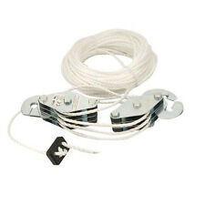 Cable Pulley Set - Max 180kg - 19.8m Lifting Cord - 6:1 Mechanical Advantage