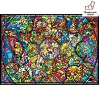 New Disney 2000 Jigsaw Puzzle  All Star Stained Glass 73x102cm F/S from Japan