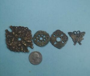 CHINA , Old Charm coins lot (2) 4 coins