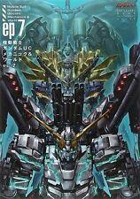 Gundam UC Unicorn Mechanics & World ep 7 Illustration & Story Book