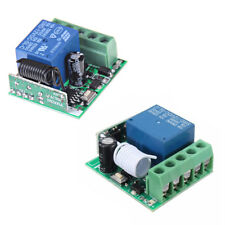 Universal RF 433Mhz Remote Control Switch 12V 1-Ch Relay Receiver Module