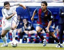 LUIS FIGO FC BARCELONA FIFA TOP 100 SIGNED AUTOGRAPHED 11X14 PHOTO BECKETT BAS