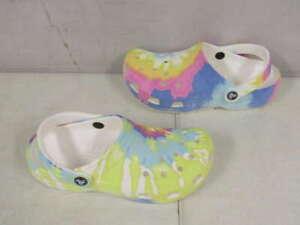 Crocs Unisex US M5/W7 Classic Clogs Tie Dye