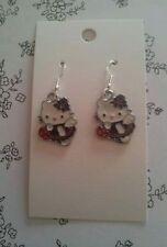 Hello Kitty Enamel Fashion Earrings