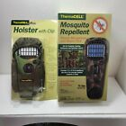 NEW! Thermacell MOSQUITO REPELLENT (CAMO) Cordless Portable Hunting w holster
