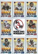 2014 Score Football Hot Rookie Set 50 Cards Carr Beckham Bortles Watkins