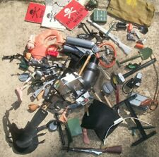 Vintage Action Man Accessories Spares Huge Lot Mines Radio All played with Spare