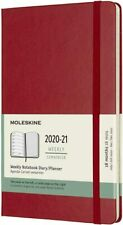 -2021 18m Weekly Large HB Red Book