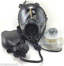 Mestel Safety SGE400 Gas Mask 40mm NATO w/DrinkingSystem & NBC Filter Exp 6/2022