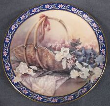 Irises Lena Liu Fourth Basket Bouquets Ws George Collector Plate Flowers